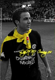 Mario Götze colorkey