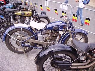 Motos anciennes, Briare, France