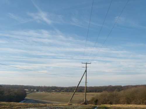 Nice picture of a telegraph pole