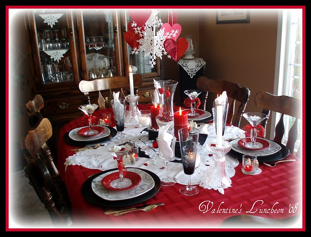 Classy Dinner Table Setting A Gallery On Flickr