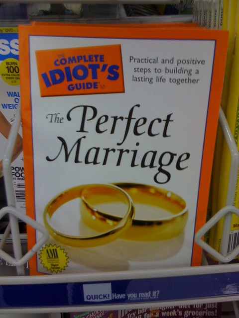 Awesome, no more divorces!