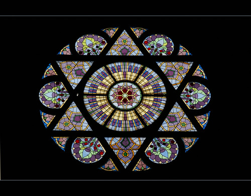 rosette...........stained glass