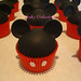 Mickey Mouse Cupcake Army
