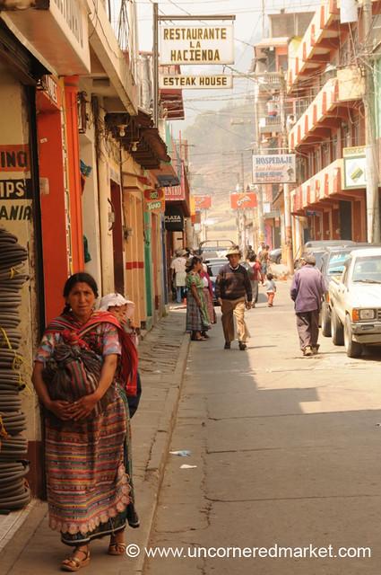 Downtown Totonicapan - Guatemala