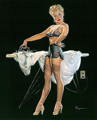 ELVGREN- Ironing