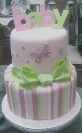 Butterfly Baby Shower Cake Images : Butterflies and stripes Flickr - Photo Sharing!