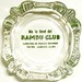 Bambu Club Habana, Cuba Ashtray by Hock_venom