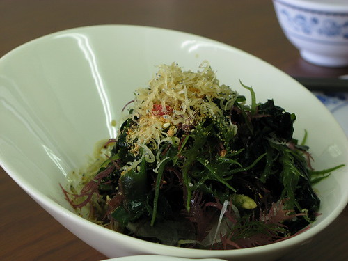 好吃的海藻沙拉