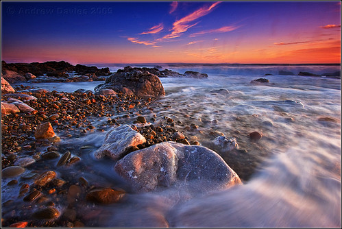 longexposure sunset sea sun beach water wales geotagged coast seaside twilight sand rocks searchthebest dusk south pebbles explore glamorgan dwr picks bridgend gloaming porthcawl canonefs1022mmf3545usm restbay explored lowandwide penybontarogwr canoneos40d andrewwilliamdavies geo:lon=3728786 geo:lat=51492767 gettyartistpicksoctober09