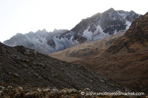 mountain snow peru trek landscape salkantay salkantaytrek salcantay