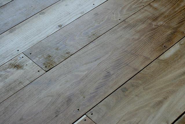 Dark Walnut Floors In Kitchen