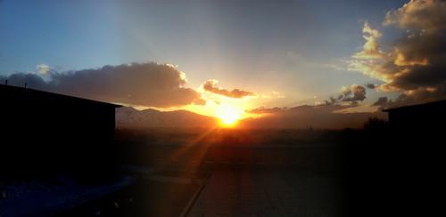 sunset kabul