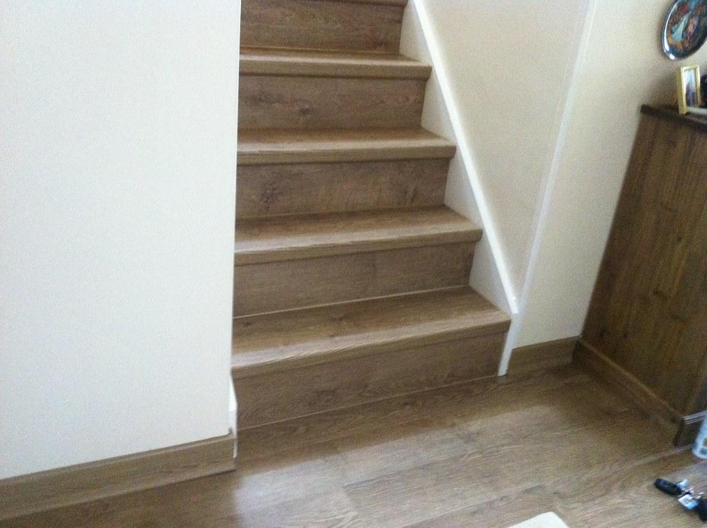 Laminate Floor Stairs Floor Stairs Concrete On Wood