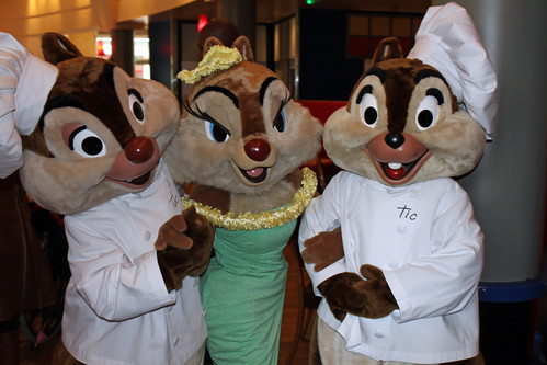 Chef Chip and Dale with Clarice