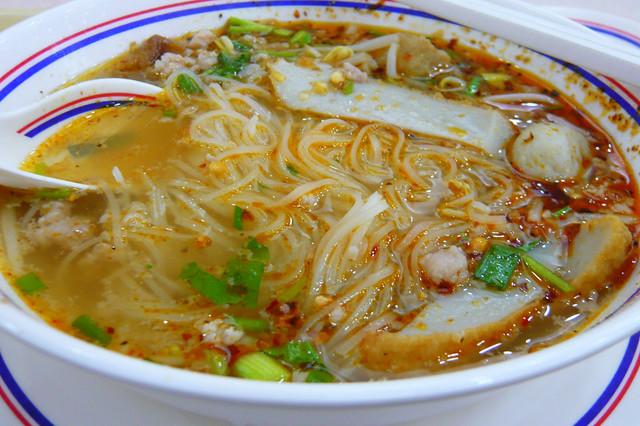 Thai Noodle Soup, Bangkok Thailand