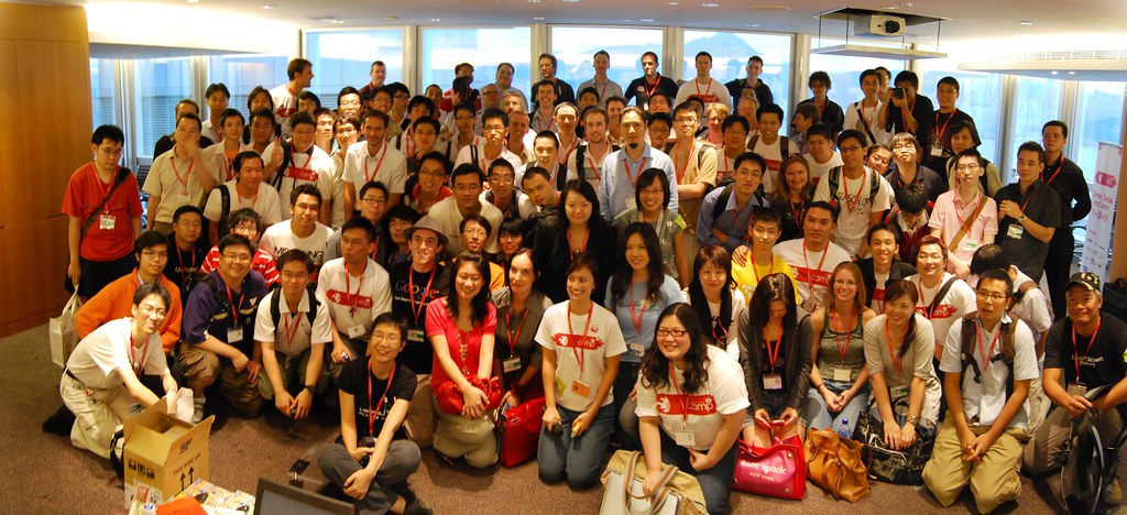 BarCamp Group Photo, Stitched