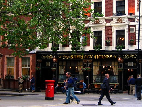 "One of My Favorite (or ""Favourite"") London Pubs"