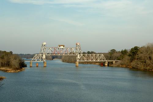 Abandoned RR Bridge at Omaha, GA