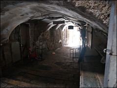 arch, air-raid shelter, alley, crypt, infrastructure,