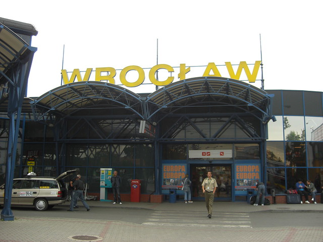 Wroclaw airport, Poland