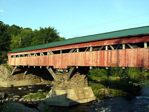 Covered Bridge Taftsville