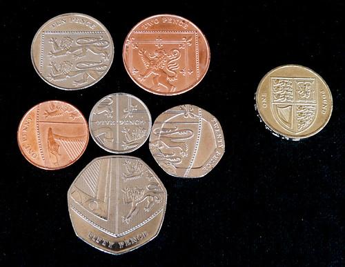 New Design of UK Pound Sterling Coins, Flickr