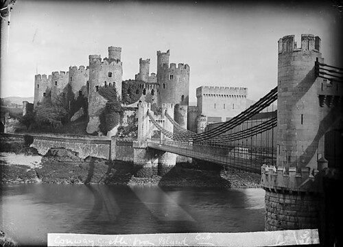 Conwy castle and bridge