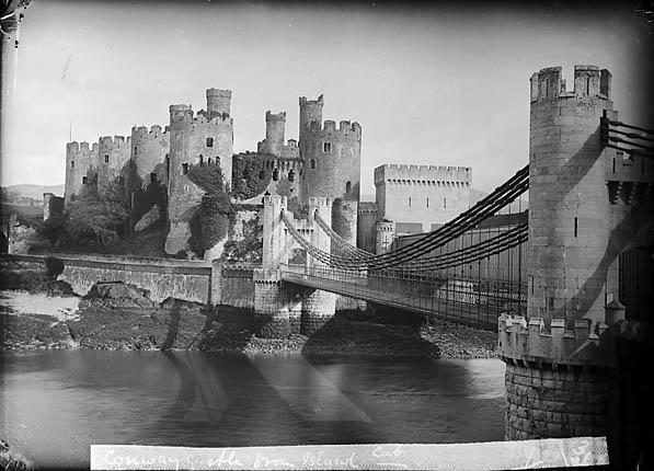 Conwy castle and bridge