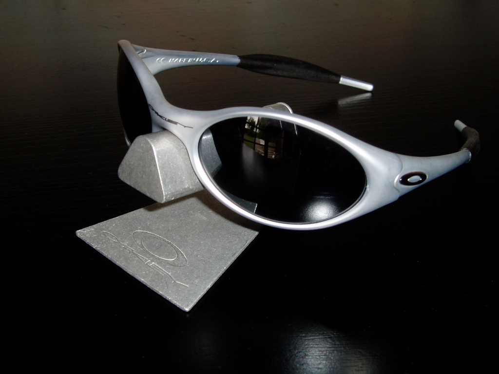 eye jacket oakley 0q38  Oakley New Eye Jacket庐 FMJ 556 w/Black Iridium