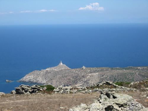 Asinara Lighthouse in Punta Scorno