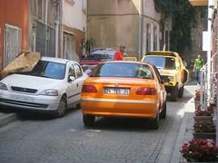 traffic jam by hostel