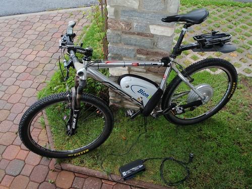 Elektrofahrrad, Fahrrad mit Motor