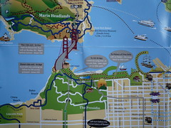 Golden Gate Cycle Routes
