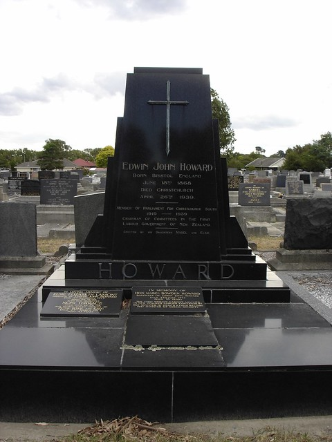 HOWARD/LAMONT grave