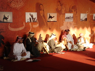 Camel show in Qatar