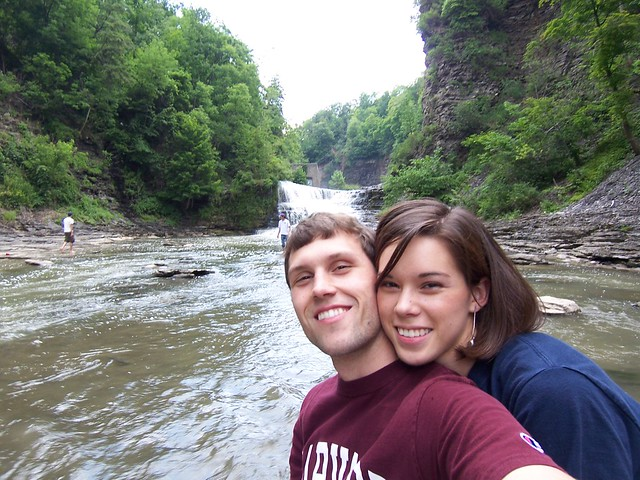 ian & anna in the gorge