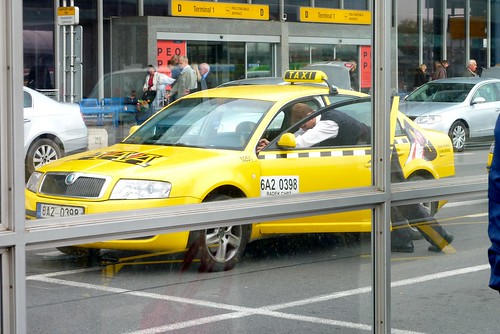 It's best to book taxis in Prague in advance.