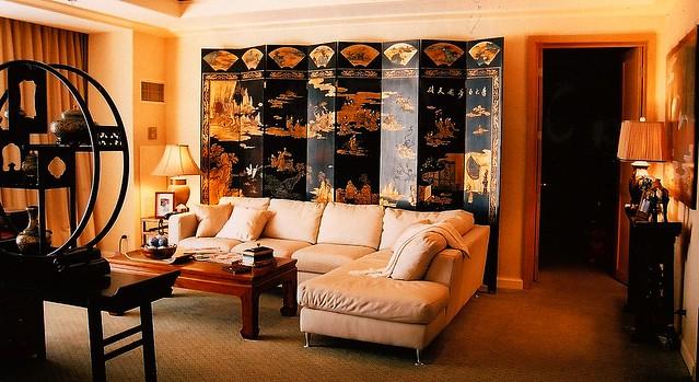 Asian chinese korean living room interior design set for Korean living room design