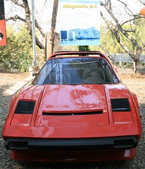 lamborghini jalpa(0.0), race car(1.0), automobile(1.0), automotive exterior(1.0), vehicle(1.0), ferrari 328(1.0), land vehicle(1.0), supercar(1.0), sports car(1.0),