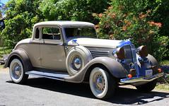 automobile, packard 120, vehicle, antique car, sedan, vintage car, land vehicle, luxury vehicle, motor vehicle,