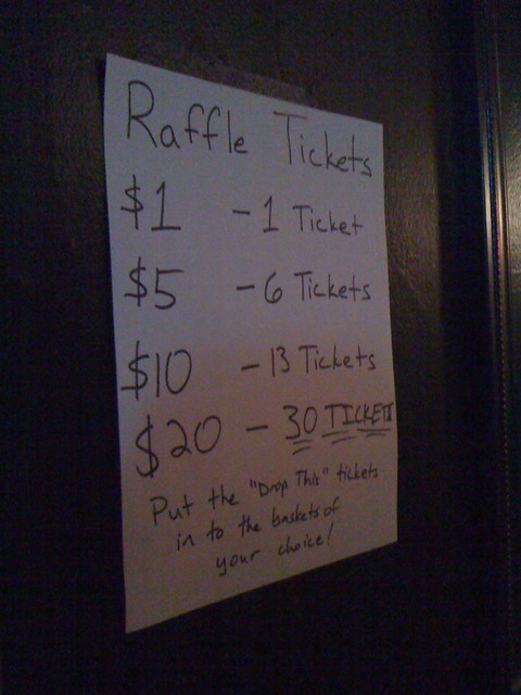 raffel tickets
