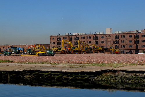 former site of Revere Sugar, red hook