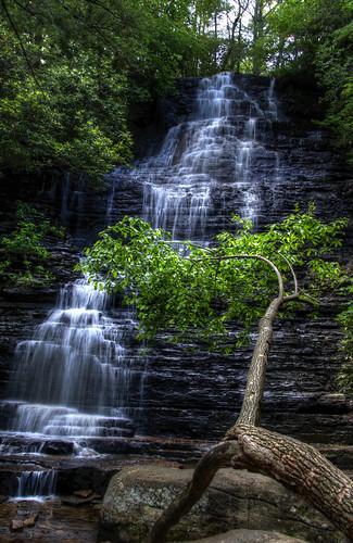 chris kaskel photography nikon d5000 benton falls tennessee tn waterfall water fall hdr cascades 3xp cascade silky photomatix pro photo matix soft