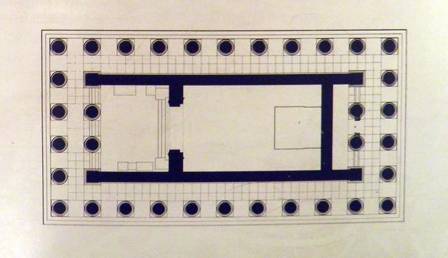 The Temple of Athena Polias, Priene, British Museum
