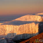 Sunrise Over Glaciers - Mt. Kilimanjaro, Tanzania