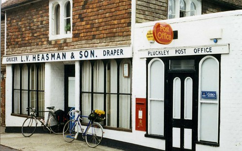 Pluckley Post Office  Ashford Kent, TN26 1997