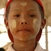 Burmese Boy with Thanaka - Toungoo, Burma