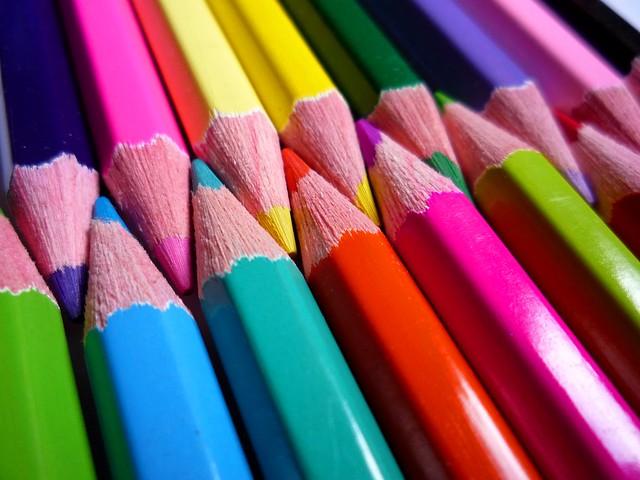 una punta di colore
