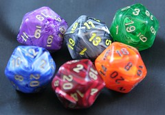 d20 dice by Las Vegas Decker, on Flickr