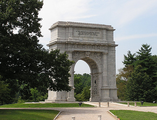 Vf30 Valley Forge National Memorial Arch Explore Lcm1863 Flickr Photo Sharing